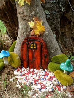 Fairy Door with Bars. Chiraet's Door.  Die by FairybehindtheDoor, $24.50