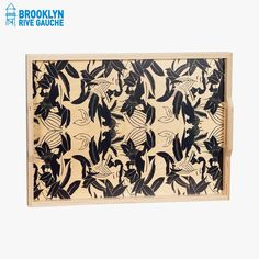 Plateau en bouleau, Panther - Wolfum #LeBonMarche #Tendance #Green #GrennSpirit #Maison #Home #Bio #Organic #BrooklynRiveGauche