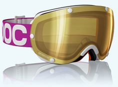 POC Lobes Ski Goggles - wish they still made this gold mirror lens