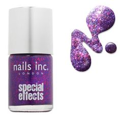 Nails Inc Bloomsbury Square 3D Glitter 10ml  at BeautyBay.com