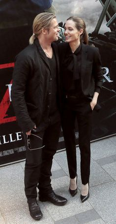 Brad and Angelina Keep the Romance Coming in Paris: Brad Pitt and Angelina Jolie premiered World War Z in Paris.