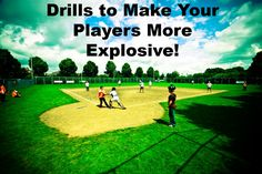 Today, we want to share with you some softball drills that will help make your athletes more explosive. These are great for training and conditioning! Softball Workouts, Softball Drills, Softball Coach, Girls Softball, Fastpitch Softball, Softball Players, Softball Stuff, Softball Things, Softball Hair