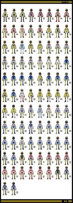 Valentino Rossi 1996-2013 leathers