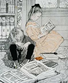 Ilustração de Sarah Stilwell Weber.