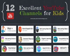 12 Excellent YouTube Channels That Provide Educational Video Content for Kids