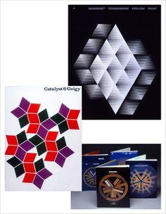 Gorgeous modern graphic design work (1960–1970) by Burton Kramer. http://aqua-velvet.com/2012/03/modernist-burton-kramer/