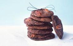 Csokis-pekándiós süti