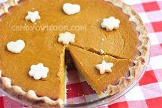 Bánh Pumpkin pie cho ngày lễ Tạ Ơn
