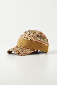 Zigzag Ball Cap #anthropologie