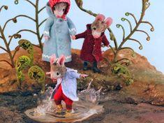 Felt Mouse, Baby Mouse, Cute Mouse, Wet Felting, Needle Felting, Maus Illustration, A Cinderella Story, New Children's Books, Artist
