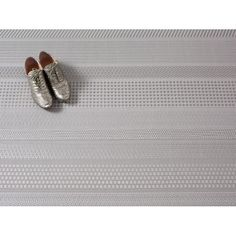Chilewich Mixed Weave Floor Mat — Topaz