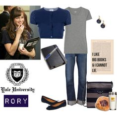 """""""Rory Gilmore"""" by tinyturtle73 on Polyvore"""