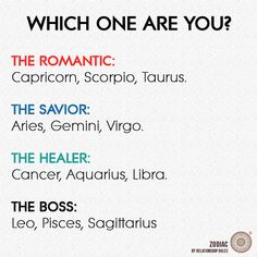 I'm a healer? And a certain someone is a romantic? Yea I can see him as a romantic... But me a healer? I think cancer should be healer and romantic!