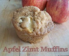 Apfel-Zimt-Muffins mit Walnüssen oder alternativ mit Haselnüssen