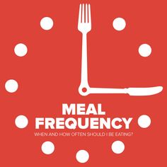 HowFrequently Should I Eat? Taken from our online Healthy Living Programs. Bea healthier you today! http://www.bodminsou.com/wp-content/uploads/2016/06/Post_MealFrequency02.jpg There is a lot of misinformation when it comes to meal frequency. Ourinfographic below has some meal examples and frequency of eatingtimes. These are suggestions
