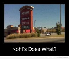 Kohl's Does What?