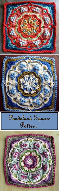 Transcendent Crochet a Solid Granny Square Ideas. Inconceivable Crochet a Solid Granny Square Ideas. Crochet Blocks, Granny Square Crochet Pattern, Crochet Stitches Patterns, Crochet Squares, Knit Or Crochet, Crochet Motif, Crochet Designs, Crochet Crafts, Crochet Projects