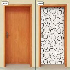 adesivo decorativo de porta - abstratos - 151mlpt