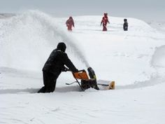 Snow removal - the right tools for the right job makes a huge difference when it comes to snow clearing.