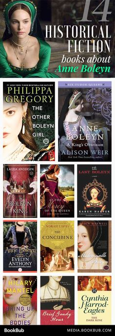 14 must-read historical fiction books about Anne Boleyn. Perfect for fans of Philippa Gregory's The Other Boleyn Girl.                                                                                                                                                                                 More