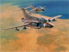 "Blackburn Buccaneer S.Mk2B ""Miss Jolly Roger"" in the First Gulf War 1991"