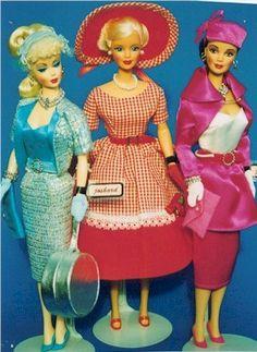 Joshard Originals OOAK make over Barbie dolls and retro fashions Old Barbie Dolls, Original Barbie Doll, Doll Clothes Barbie, Barbie Clothes Patterns, Vintage Barbie Clothes, Vintage Dolls, Barbie Life, Barbie World, Fashion Dolls