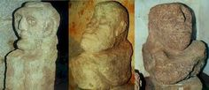 """Esculturas de Torrecampo, descubiertas en las #excavaciones de Riotinto. #curiosidades #arqueológicas. Mencionadas en la #novela """"El ídolo"""" de Eva Lara"""