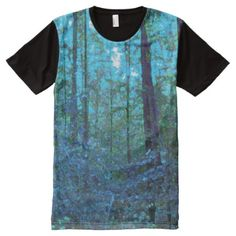 Upgrade your style with Forest t-shirts from Zazzle! Browse through different shirt styles and colors. Search for your new favorite t-shirt today! Unique Art, Shirt Style, Mystic, Your Style, Shirt Designs, Cool Stuff, Mens Tops, T Shirt, Supreme T Shirt