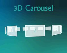 3D Carousel Using TweenMax.js and jQuery