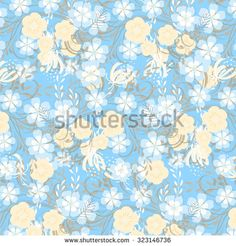 Wedding invitation with flowers - stock vector