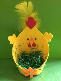 The workshop suggestion box : DIY Easter Easter Projects, Easter Crafts For Kids, Easter Activities, Preschool Crafts, Spring Crafts, Holiday Crafts, Diy And Crafts, Paper Crafts, Easter Art