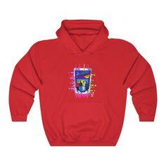 Juicy Juice - (Unisex) Hooded Sweatshirt - Red / S