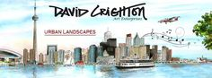 #davidcrighton has #illustrated #toronto for over 40 years!