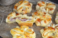 Ingrediente : Puff Pastry Recipes, Shrimp, Bacon, Cooking Recipes, Snacks, Cookies, Meat, Food, Eten