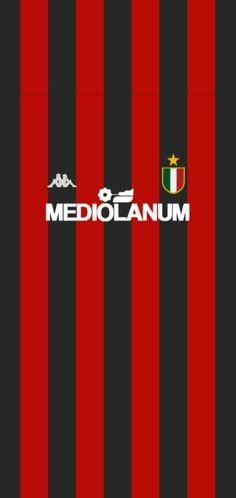 Ac milan Milan Wallpaper, Soccer Kits, Football Wallpaper, Ac Milan, Converse, Sports, Football Shirts, Club, Football Team