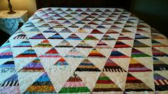 Scrappy Pennant  Quilt