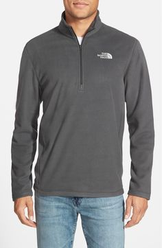 A lightweight, quick-drying pullover is designed to help regulate your body temperature while you enjoy the great outdoors. The quarter-zip top features ultrasoft microfleece for unparalleled warmth, durability and breathability on and off the trail.