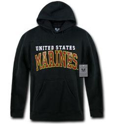 United States Marines Pullover Hoodie. #hoodie #marines #marine #marinecorps #usmc #usmcapparel