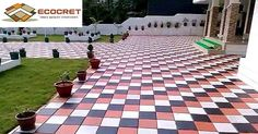 Interlocking paver tiles & Zigzag pavers - Ecocret #ZigzagPavers #InterlockingTiles #PaversTiles #FlyashBricks #Kerbstone #HollowBlocks Contact us:- Mobile - +91 9540040451 Email - ecocret@gmail.com http://bit.ly/2fTAudx Visit to Website:- www.ecocret.com