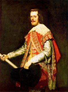 Rei D. Filipe III de Espanha e Portugal (1578-1621) Pintor: Velazquez. Editorial: Real Lidador Portugal Autor: Rui Miguel