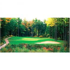 Details about Golf Course Mural Collection New England X-Large, from ...