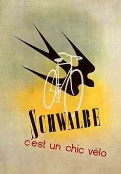 1938 Poster Ad for Schalbe Bicycles