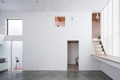 yoshiaki yamashita designs shoji screen house in osaka