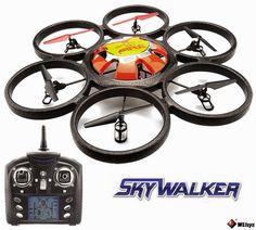 rogeriodemetrio.com: RC Hexacopter - 2,4 GHz, 4 canais