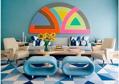 Salón estilo Miami años 50  de Anthony Baratta