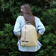 Soft leather backpack, leather laptop bags, natural leather purse, rucksack travel, laptop backpack, unisex backpacks, school backpack