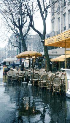 Día lluvioso en Paris