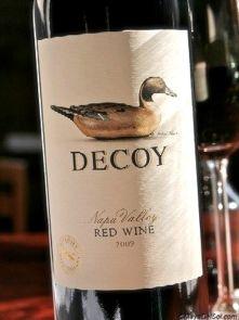 "DUCKHORN VINEYARDS  ""DECOY"" napa valley, California 2010"