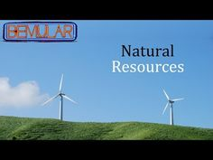 Bemular - Natural Resources (Educational Kids Music & Video) - YouTube