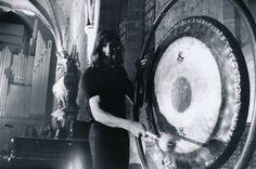 Pink Floyd in France 1971. Photo by Goksin Sipahioglu
